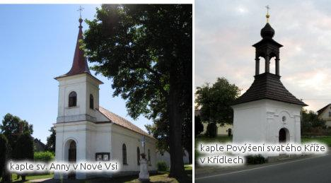 kaple sv. Anny v Nové Vsi